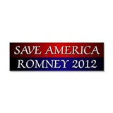 Save America Romney 2012 Car Magnet 10 x 3
