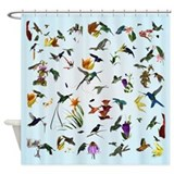 Hummingbirds of the Americas Shower Curtain