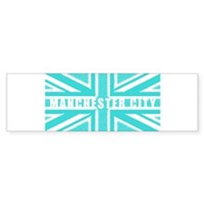 Manchester City Union Jack Bumper Sticker
