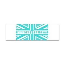 Manchester City Union Jack Car Magnet 10 x 3