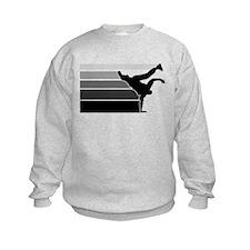 Break lines gray/blk Sweatshirt