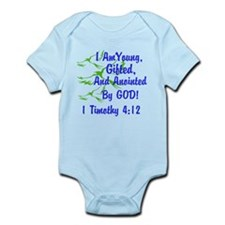 I Am Young, Gifted And Anointed Bodysuit