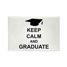 Keep Calm and Graduate Rectangle Magnet (10 pack)