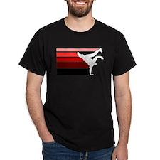 break lines red white T-Shirt
