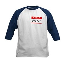 Dietel, Name Tag Sticker Tee