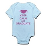 Keep Calm and Graduate Infant Bodysuit