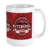 Kitzbühel Red Ceramic Mugs
