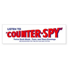 Counterspy #2 Bumper Sticker
