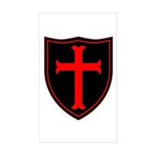 Crusaders Cross - ST-6 (1) Decal