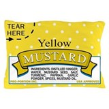 Mustard Packet Pillow Case