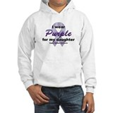 Purple for Daughter Hoodie
