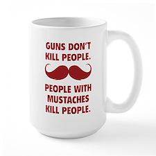 Guns don't kill people Ceramic Mugs