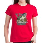 Bass not Rainbow Women's Dark T-Shirt