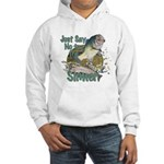 Bass not Rainbow Hooded Sweatshirt