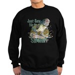 Bass not Rainbow Sweatshirt (dark)
