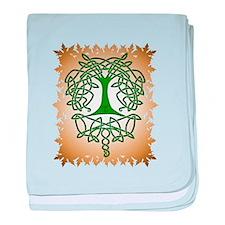 Celtic Tree of Life baby blanket