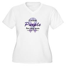 Purple for Son T-Shirt