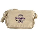 Purple for Son Messenger Bag