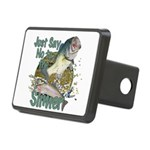 Bass not slimers Rectangular Hitch Cover