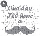 One Day I'll Have A Mustache Puzzle
