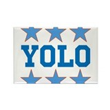 YOLO Rectangle Magnet (10 pack)