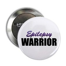 "Epilepsy Warrior 2.25"" Button"