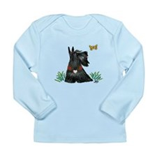 Scotty and Butterfly Long Sleeve Infant T-Shirt
