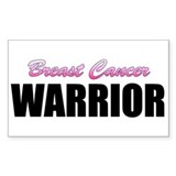 Breast Cancer Warrior Decal