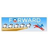 FORWARD Bumper Sticker