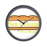 Poboy Wall Clock