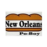 nolapoboy.jpg Rectangle Magnet (10 pack)