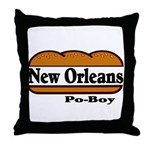nolapoboy.jpg Throw Pillow
