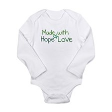 Cute Adoption Long Sleeve Infant Bodysuit