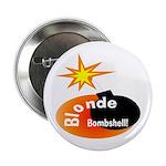 Blonde Bombshell Button