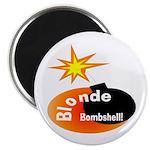 Blonde Bombshell Magnet