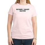 Olympic Valley Native Women's Pink T-Shirt
