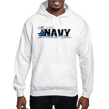 Niece Combat Boots - NAVY Hoodie