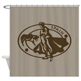 Spain Bullfighting Shower Curtain