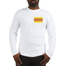 Flag of Vietnam Long Sleeve T-Shirt