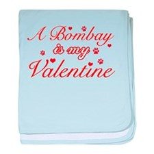 A Bombay is my valentine baby blanket