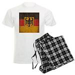 Vintage Germany Flag Men's Light Pajamas