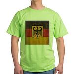 Vintage Germany Flag Green T-Shirt
