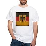 Vintage Germany Flag White T-Shirt