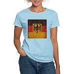 Vintage Germany Flag Women's Light T-Shirt