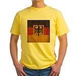 Vintage Germany Flag Yellow T-Shirt