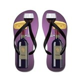 Wine Flip Flops