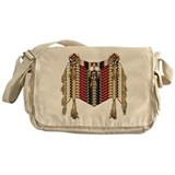 Native American Breastplate 9 Messenger Bag