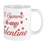 A Cymric is my valentine Coffee Mug