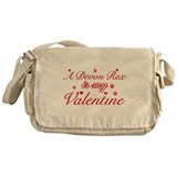 A Devon Rex is my valentine Messenger Bag