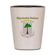 Equatorial Guinea designs Shot Glass